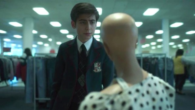 The Umbrella Academy fans slam theory Number Five's mannequin girlfriend is alive Provider: Netflix Source: https://www.digitalspy.com/tv/ustv/a26821631/umbrella-academy-number-five-dolores-mannequin-real/