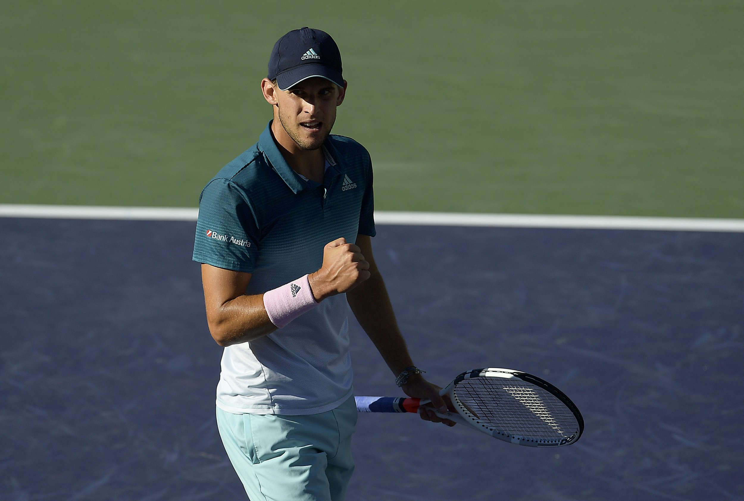 Dominic Thiem fights back to shock Roger Federer and win first Masters title at Indian Wells