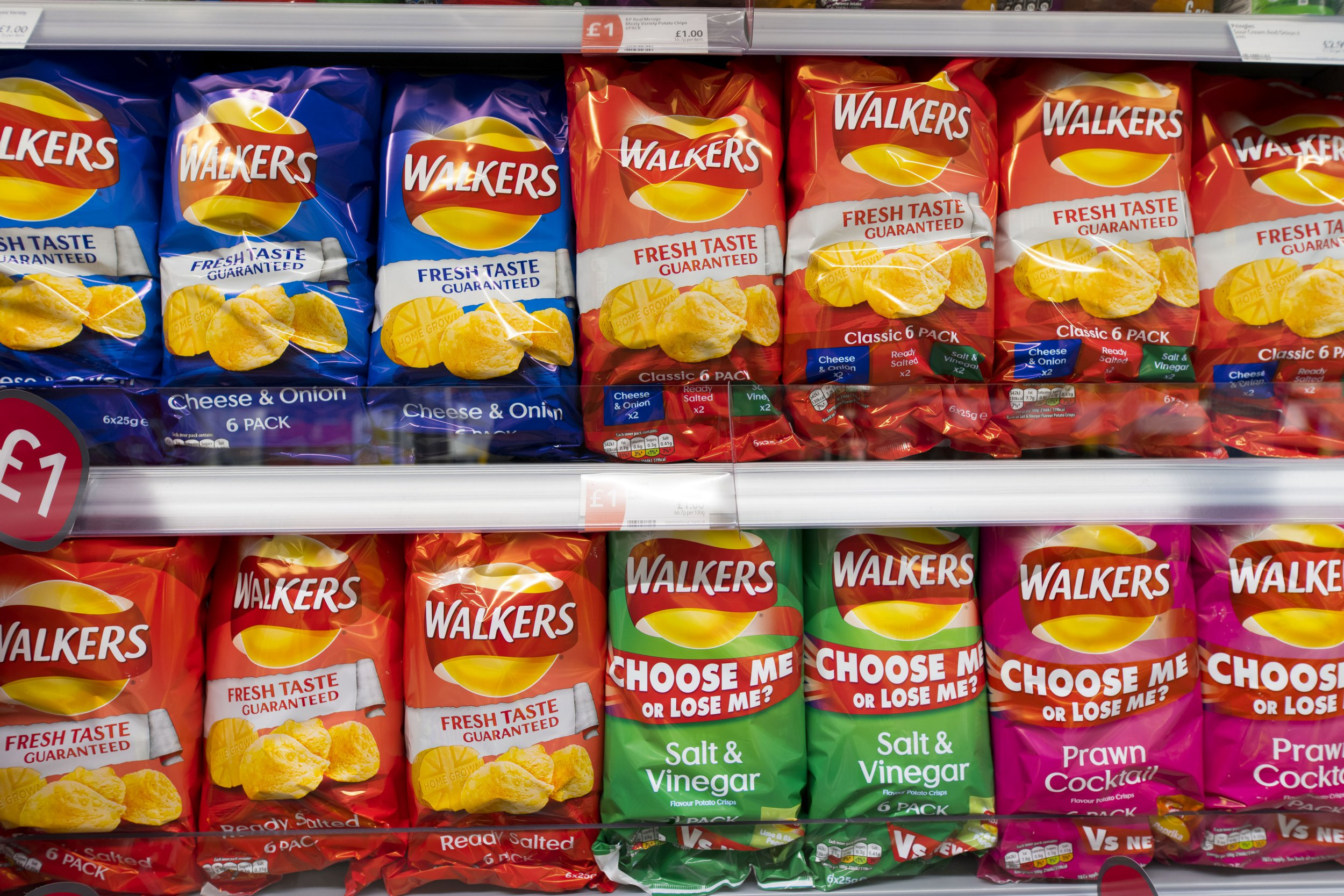 Walkers has recycled more than 500,000 crisp packets in the last three months