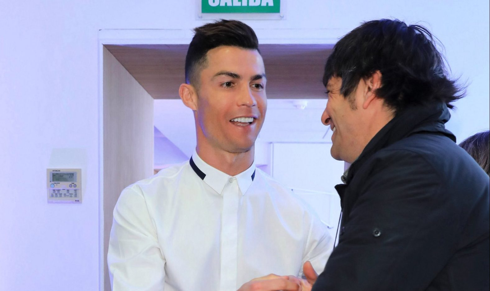 MADRID, SPAIN - MARCH 18: Cristiano Ronaldo presents his new business 'Isparya' on March 18, 2019 in Madrid, Spain. (Photo by Europa Press Entertainment/Europa Press via Getty Images)