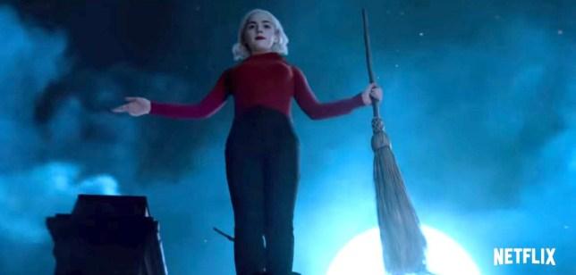 The Chilling Adventures of Sabrina season 2 trailer Provider: Netflix Source: https://www.youtube.com/watch?v=d8dLwiT2KOo