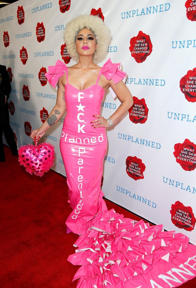 HOLLYWOOD, CA - MARCH 18: Joy Villa attends the 'Unplanned' Red Carpet Premiere on March 18, 2019 in Hollywood, California. (Photo by Maury Phillips/Getty Images for Unplanned Movie, LLC)