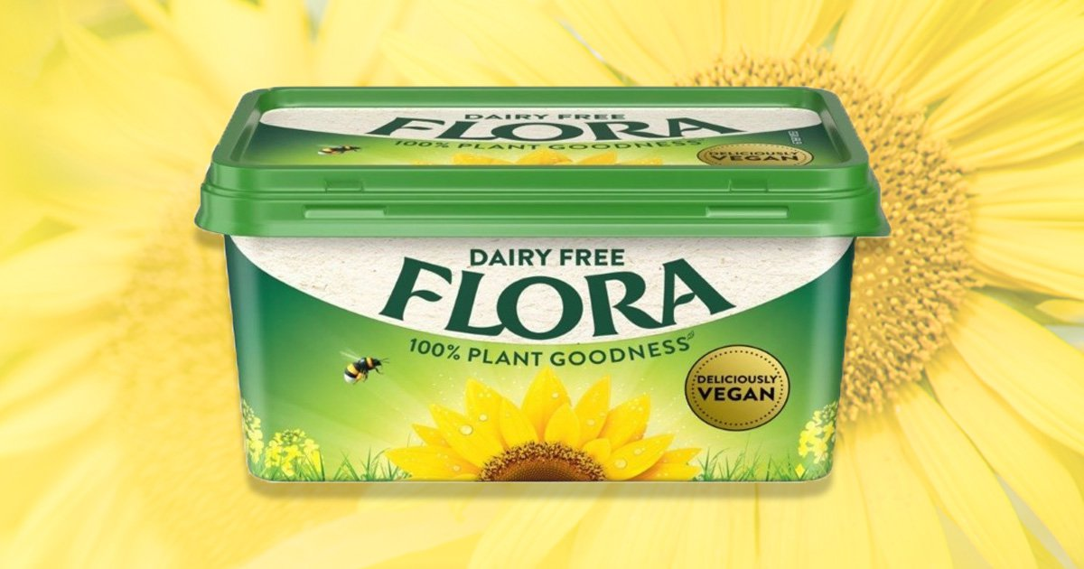 Flora goes completely vegan and removes dairy from their entire spread range