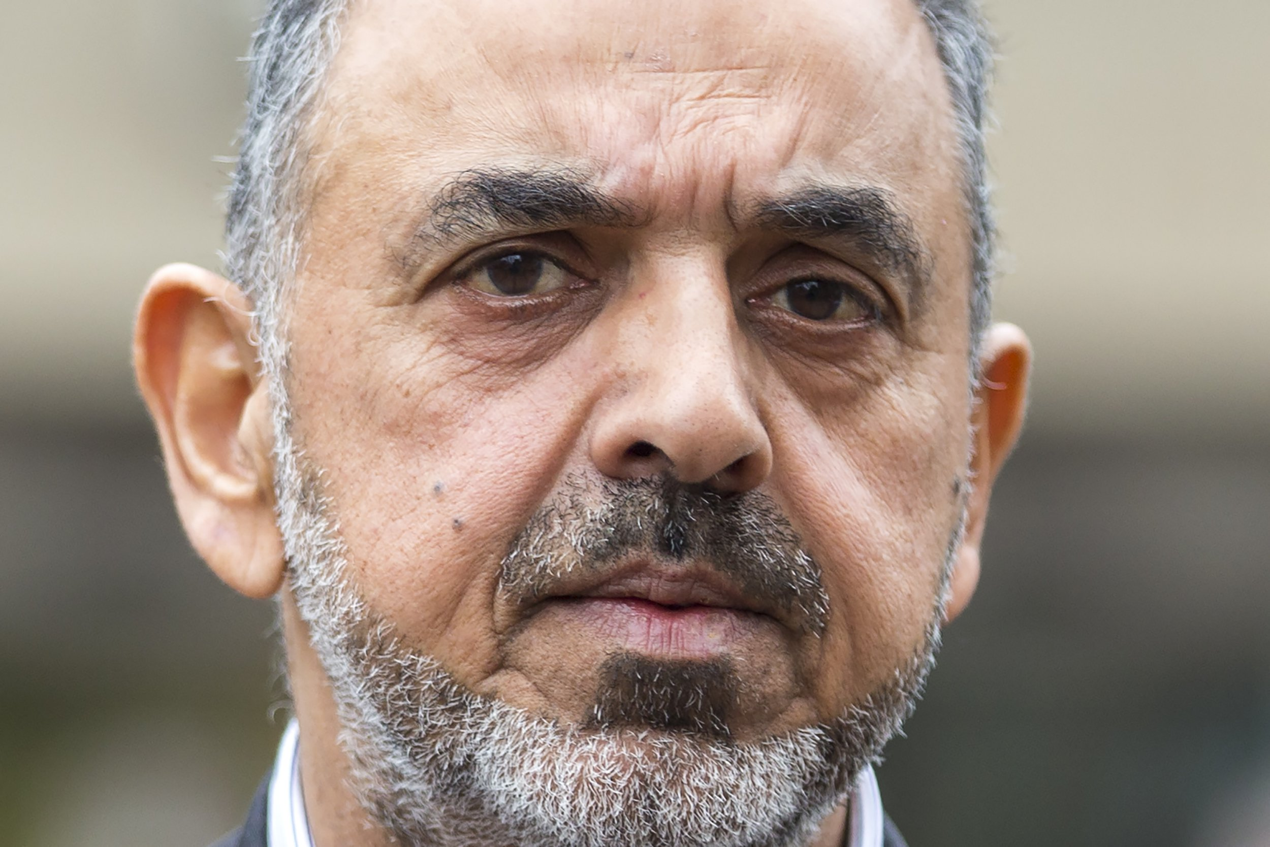 ? Licensed to London News Pictures. 19/03/2019. Sheffield UK. Lord Nazir Ahmed of Rotherham leaving Sheffield Magistrates court this morning. Lord Ahmed has been charged with two counts of attempting to rape a girl, the former Labour peer is also charged with indecent assault of a boy under 13. It is alleged the offences took place between 1971 and 1974, when Lord Ahmed would have been aged between 14 and 17. Two other men, Mohammed Farouq, 68, and Mohammed Tariq, 63, both from Rotherham, have also been charged. Photo credit: Andrew McCaren/LNP