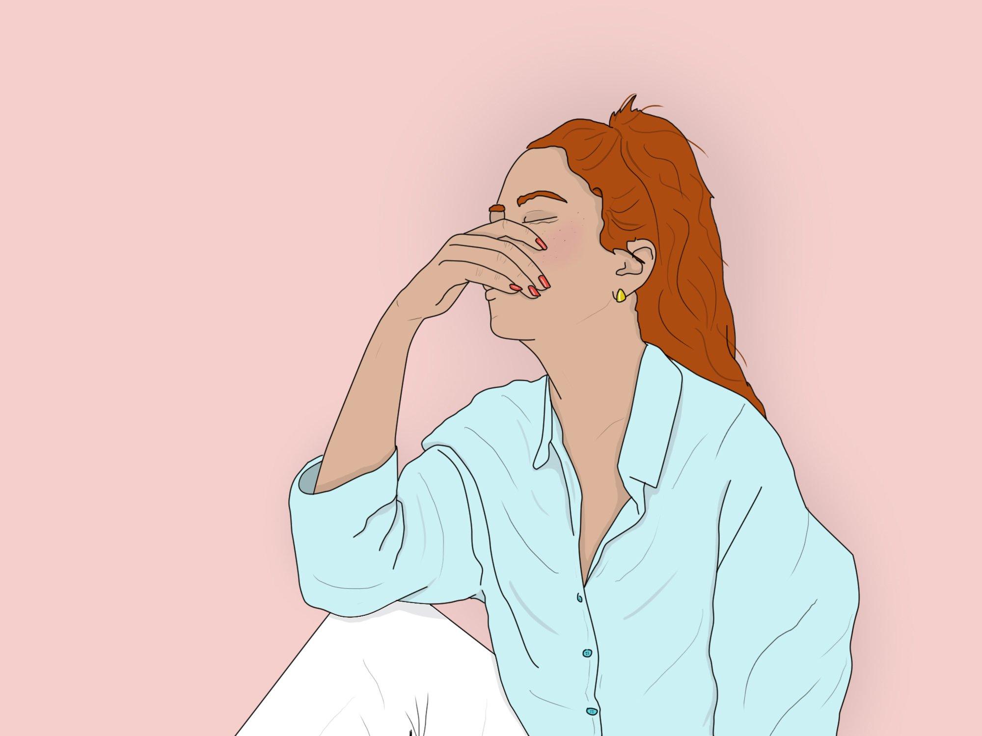 Is toxic positivity ruining your mental health? Metro illustrations Ella Byworth/ Metro.co.uk