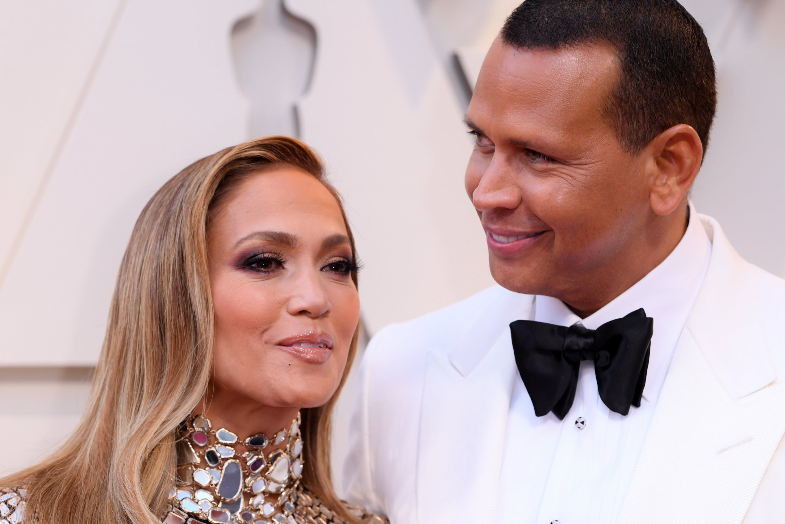 Mandatory Credit: Photo by David Fisher/REX/Shutterstock (10112734pj) Jennifer Lopez and Alex Rodriguez 91st Annual Academy Awards, Arrivals, Los Angeles, USA - 24 Feb 2019