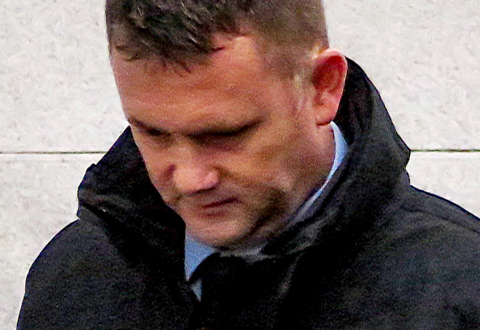 Captain Dale Jackson. A disgraced Army officer still denies molesting a woman who was so drunk she was ???like a puppet whose strings were broken??? ??? despite his attack being captured by a CCTV camera. See SWNS story SWMDgrope. Captain Dale Jackson, who blames his incapable victim for what happened, is to be discharged from the Royal Regiment of Fusiliers after 27 years??? service as a result of the incident. But a judge at Warwick Crown Court rejected a suggestion by Jackson???s barrister that the ???significant punishment??? of the loss of his career could save him from prison. Jackson (44) of Oakwood Close, Atherstone, who had been found guilty of sexual assault following a trial last month, was jailed for 15 months and ordered to register as a sex offender for 10 years.
