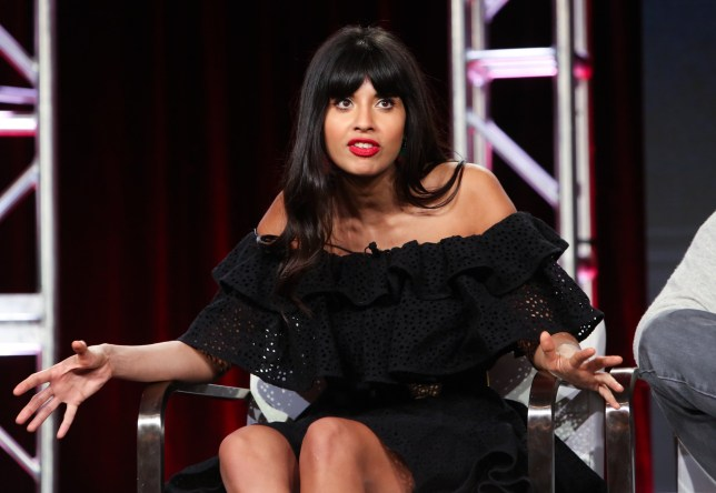 Mandatory Credit: Photo by David Buchan/Variety/REX/Shutterstock (10101232x) Jameela Jamil TBS 'The Misery Index' TV Show Panel, TCA Winter Press Tour, Los Angeles, USA - 11 Feb 2019