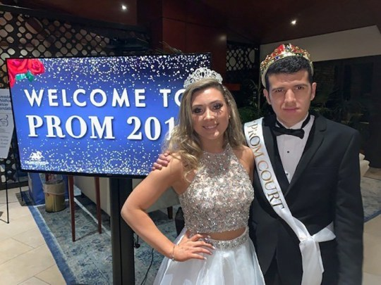 Student with autism crowned prom king Provider: Ashlee Vaness