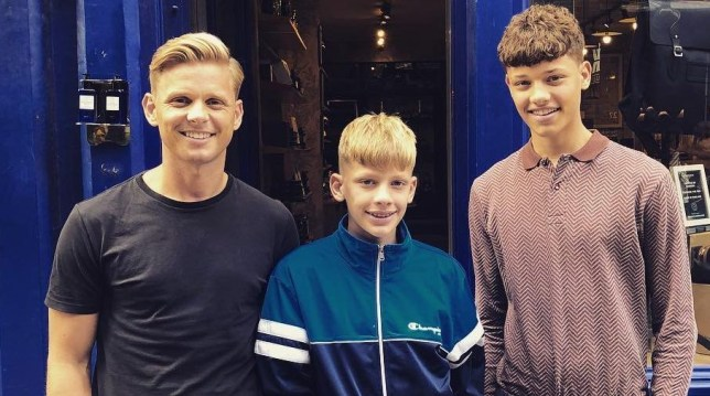 Jeff Brazier and kids to fund raise in honour of Jade's anniversary Provider: Instagram/jeffbrazier Source: https://www.instagram.com/jeffbrazier/?hl=en
