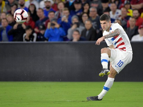 New Chelsea signing Christian Pulisic destroys Manchester United captain Antonio Valencia with stunning burst of speed