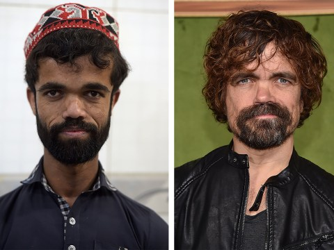 Peter Dinklage doppelganger working as a waiter has never heard of Game Of Thrones