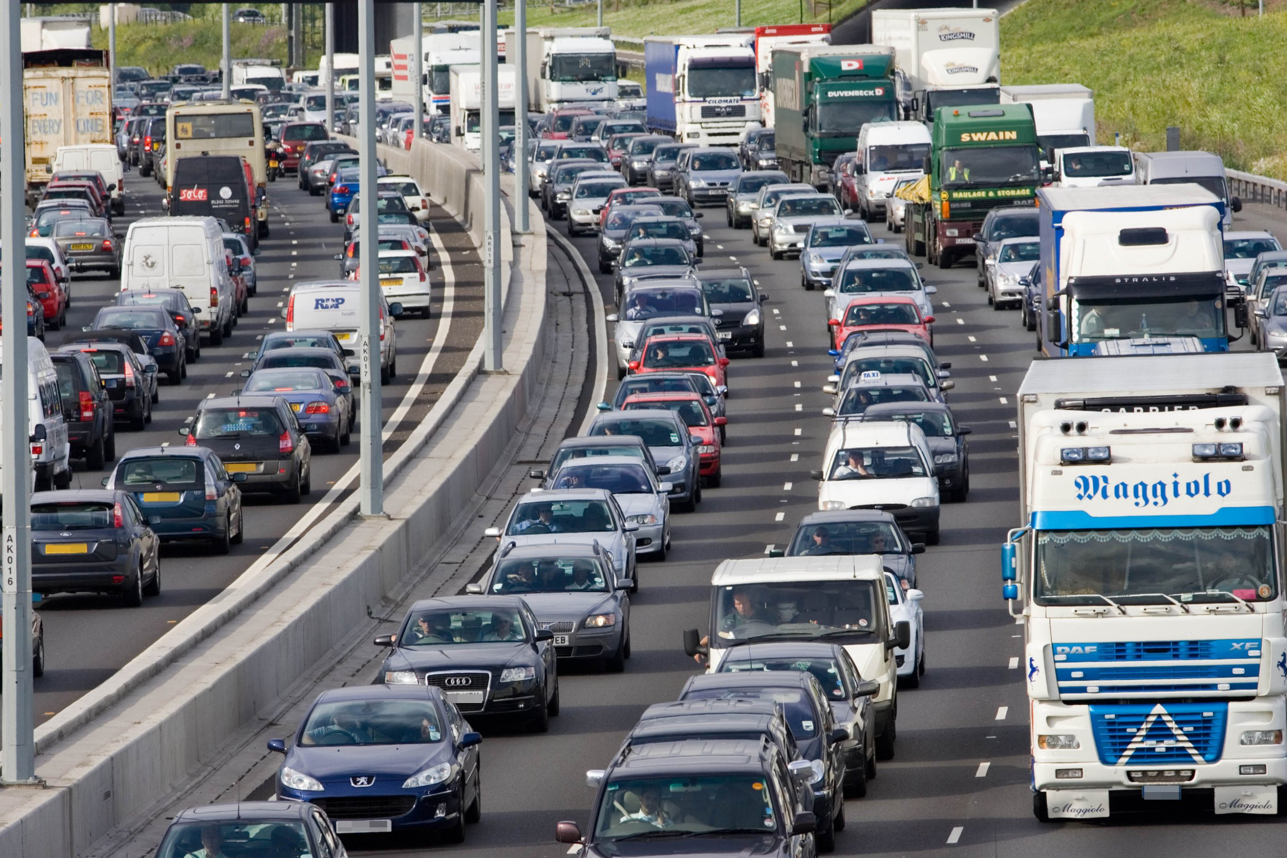 Drivers warned journeys could take three times longer over Easter