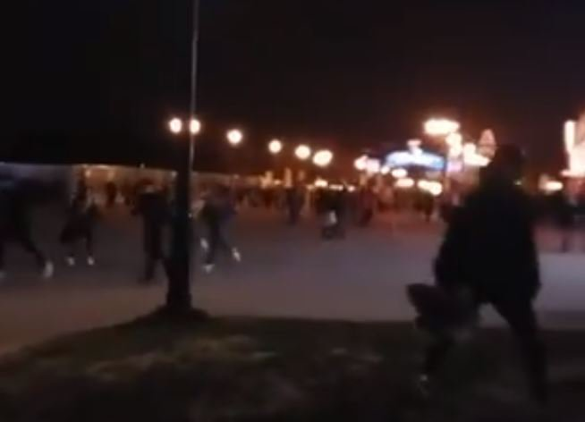 People run screaming from Disneyland Paris after 'loud noise'