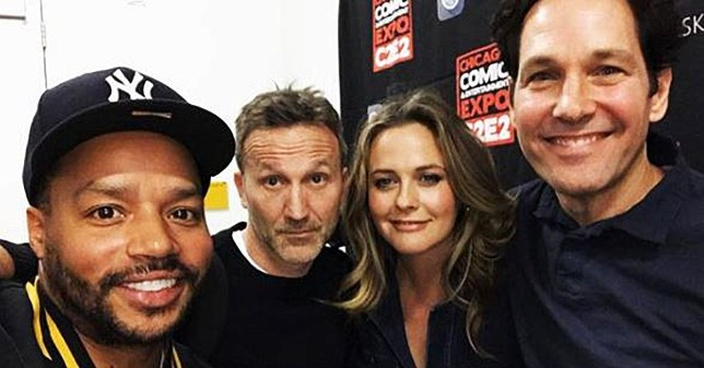 Clueless reunion Picture: breckinmeyer METROGRAB ref: https://www.instagram.com/p/BvXK7U7BsDv/