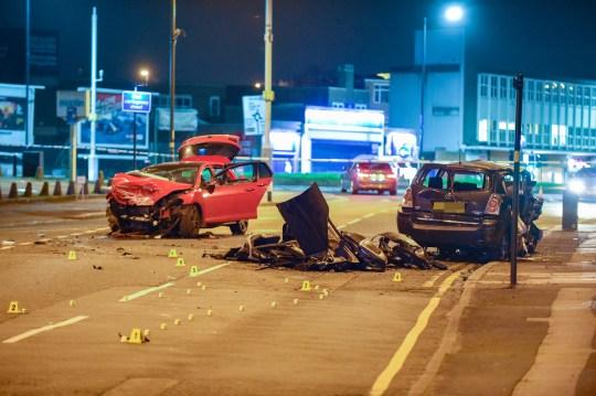 Children, three and five, among injured in serious car crash | Metro