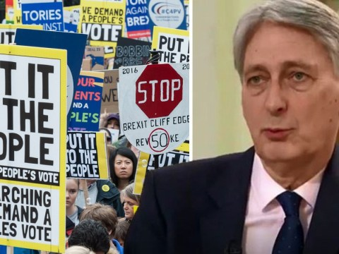 Second Brexit referendum 'deserves to be considered' says Philip Hammond