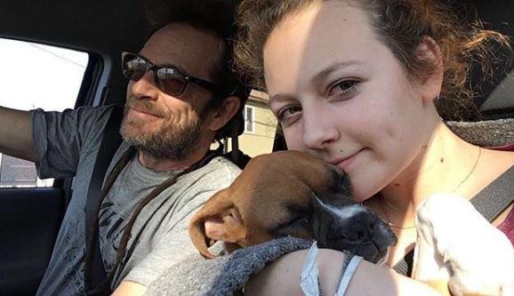 Luke Perry's daughter pens heartbreaking tribute on Instagram
