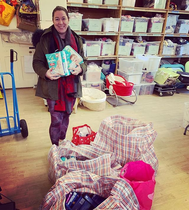 METRO GRAB - Skint parents turning to 'baby banks' - numbers rise drastically due to Universal Credit delays From @littlevillagehq/Instagram