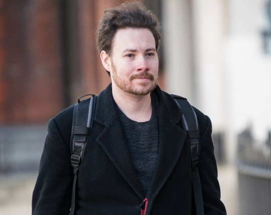 25/03/2019 Westminster Magistrate?s Court. (London). Pic shows John Murphy arriving at court. John Murphy, threw egg at Labour leader Jeremy Corbyn. SEE STORY CENTRAL NEWS. 020 72360116. Picture: Brais G. Rouco/ Central News