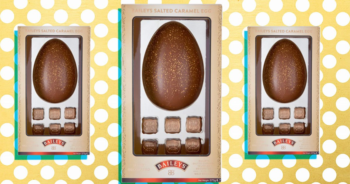 You can now buy a salted caramel flavour Baileys Easter egg for £10