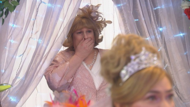 Sally called off the wedding after learning the truth about Myra