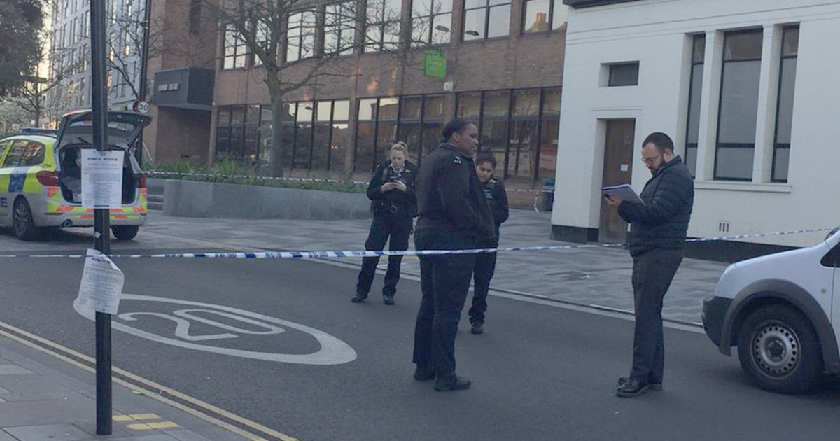 METRO GRAB - taken from Edd Stock Twitter no permissionSchoolboy 'fighting for life' after being knifed near stationhttps://twitter.com/reveddstock/status/1110232145803575296Picture: Edd Stock