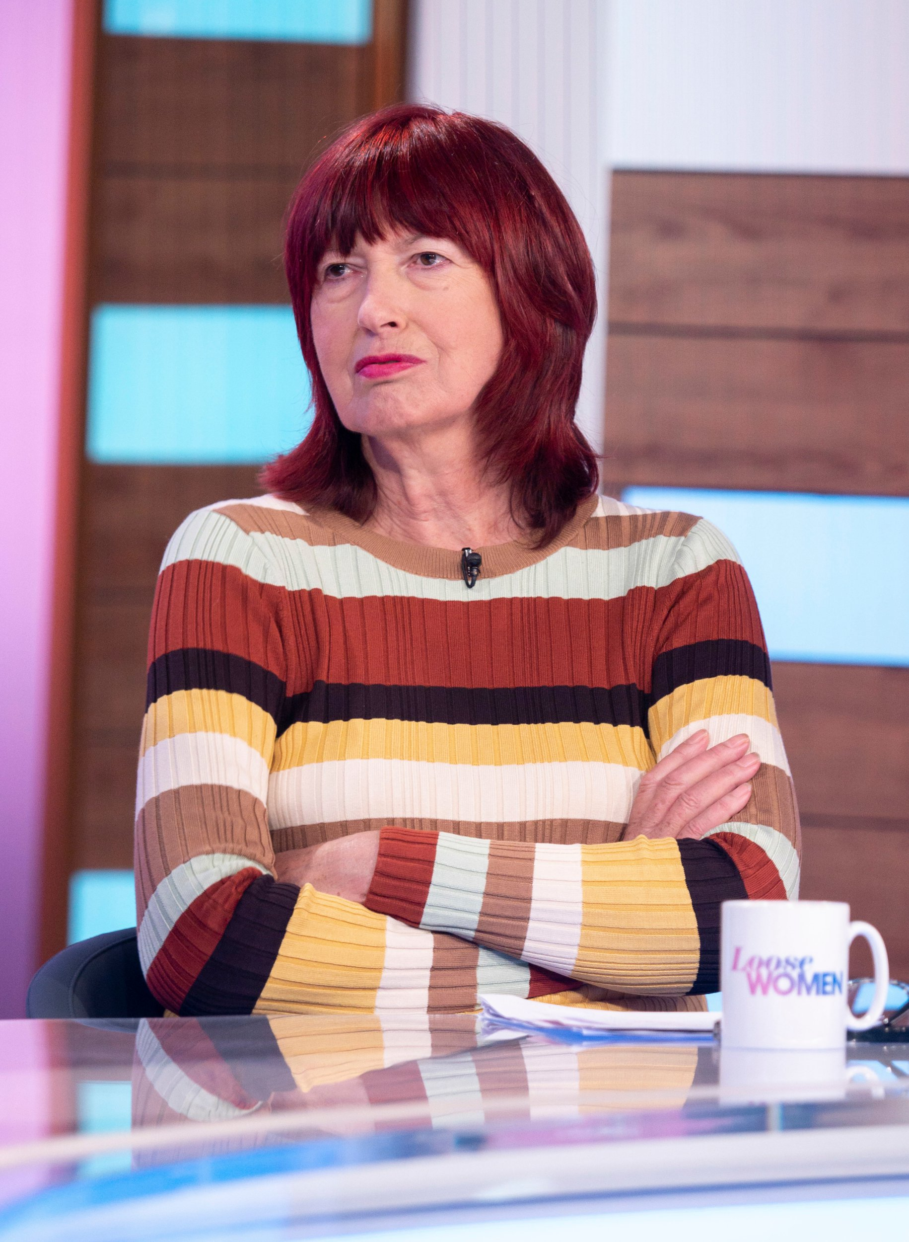 Editorial use only Mandatory Credit: Photo by S Meddle/ITV/REX/Shutterstock (10168091az) Janet Street-Porter 'Loose Women' TV show, London, UK - 26 Mar 2019