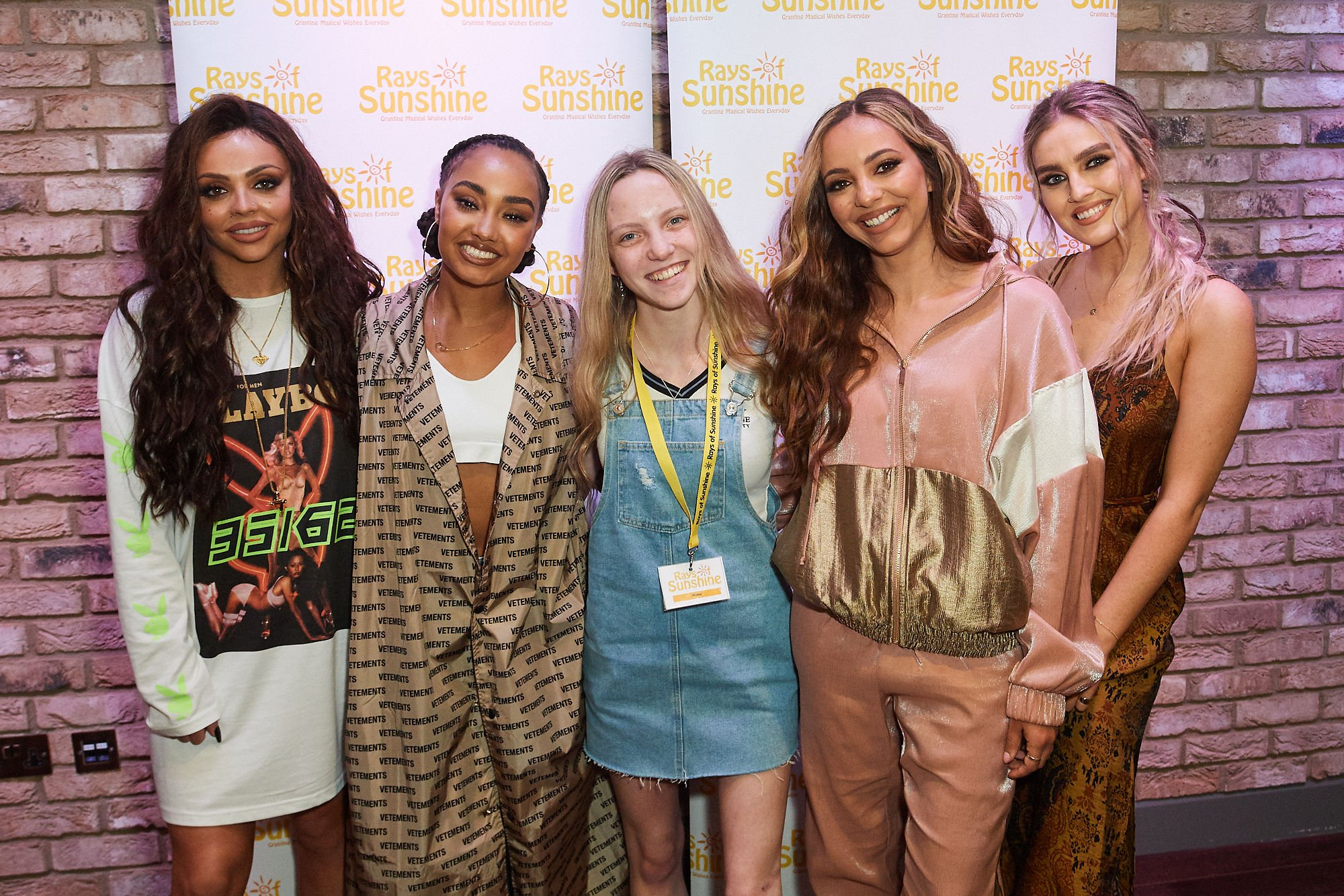 Little Mix meet 'brave and inspiring' children as they grant wishes to 12 seriously ill fans