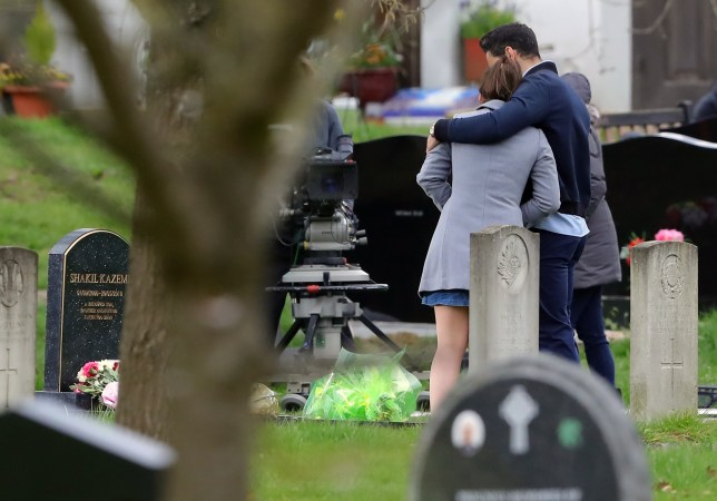 Kush and Bex get close as they grieve
