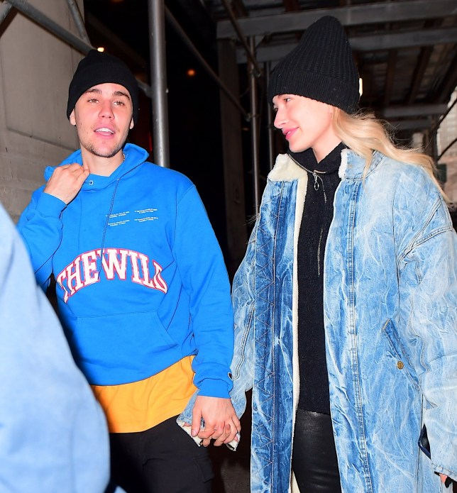 """Justin Bieber and Hailey Baldwin were spotted out together in NYC on Friday morning. The couple who have been forced to spend a lot of time apart recently due to work obligations, were reunited and they looked happier than ever. Justin showed off his Louis Vuitton Slippers and Diamond Encrusted """"DREW"""" Smiley Face Chains as the pair headed to his therapist for a joint session. Pictured: Justin Bieber,Hailey Baldwin Ref: SPL5064600 150219 NON-EXCLUSIVE Picture by: 247PAPS.TV / SplashNews.com Splash News and Pictures Los Angeles: 310-821-2666 New York: 212-619-2666 London: 0207 644 7656 Milan: 02 4399 8577 photodesk@splashnews.com World Rights, No Portugal Rights"""