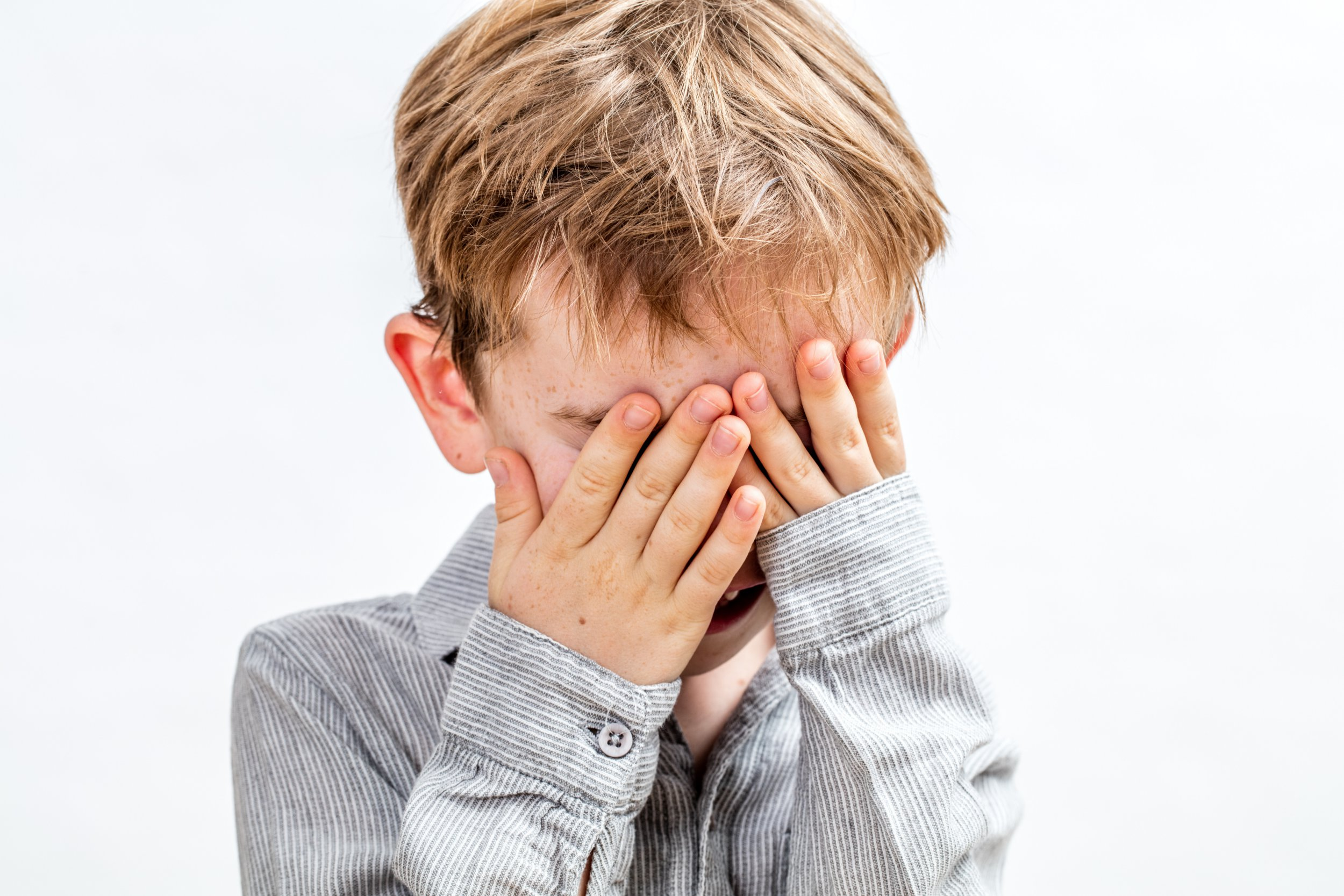 Boy was so good at hide-and-seek police had to help find him
