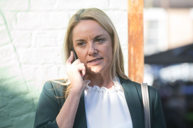 Mel puts in a desperate call to her solicitor
