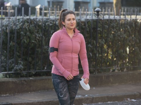 Who plays Bex Fowler in EastEnders as suicide storyline develops?