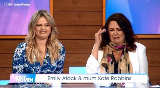 Emily Atack mortified by mum Kate Robbins??? sex stories Provider: ITV Source: https://videos.metro.co.uk/video/met/2019/03/27/7853492779313678819/960x540_MP4_7853492779313678819.mp4