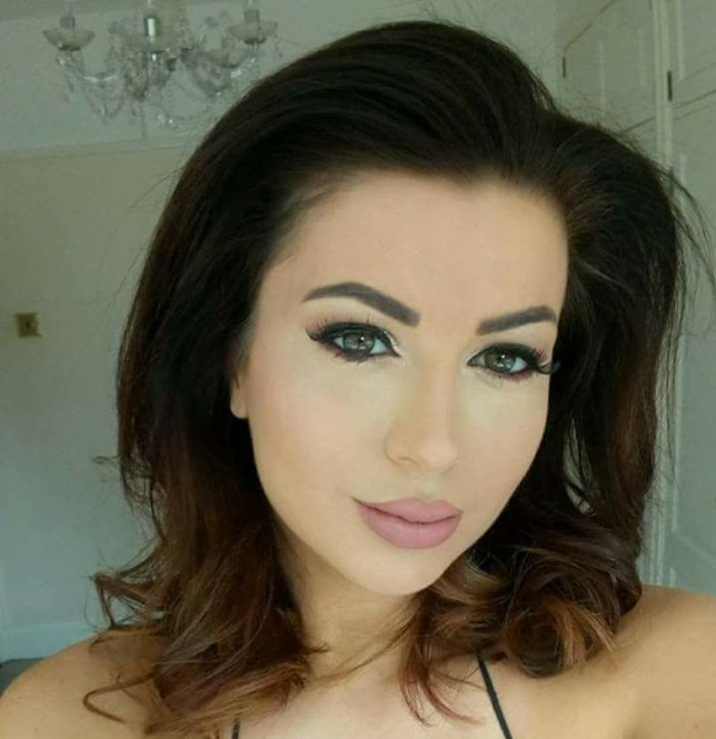 "A model was left with a horrendous ""trout pout"" after a lip op to look like Kim Kardashian went badly wrong. Lora Evans, 32, had her mouth split and swollen after the botched lip filler surgery. She warned how young people need to think carefully before following ""Love Island culture"" - and says influencers from the TV series, Towie and the Kardashians had led to the rise in beauty treatments. Pictured is Laura Evans before her botched lip filler surgery WALES NEWS SERVICE"