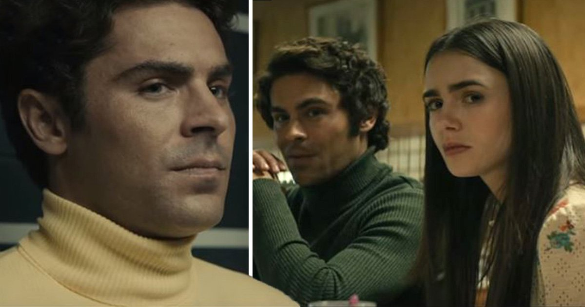 First look at Zac Efron playing Ted Bundy in Extremely Wicked, Shockingly Evil and Vile and we're already freaked out