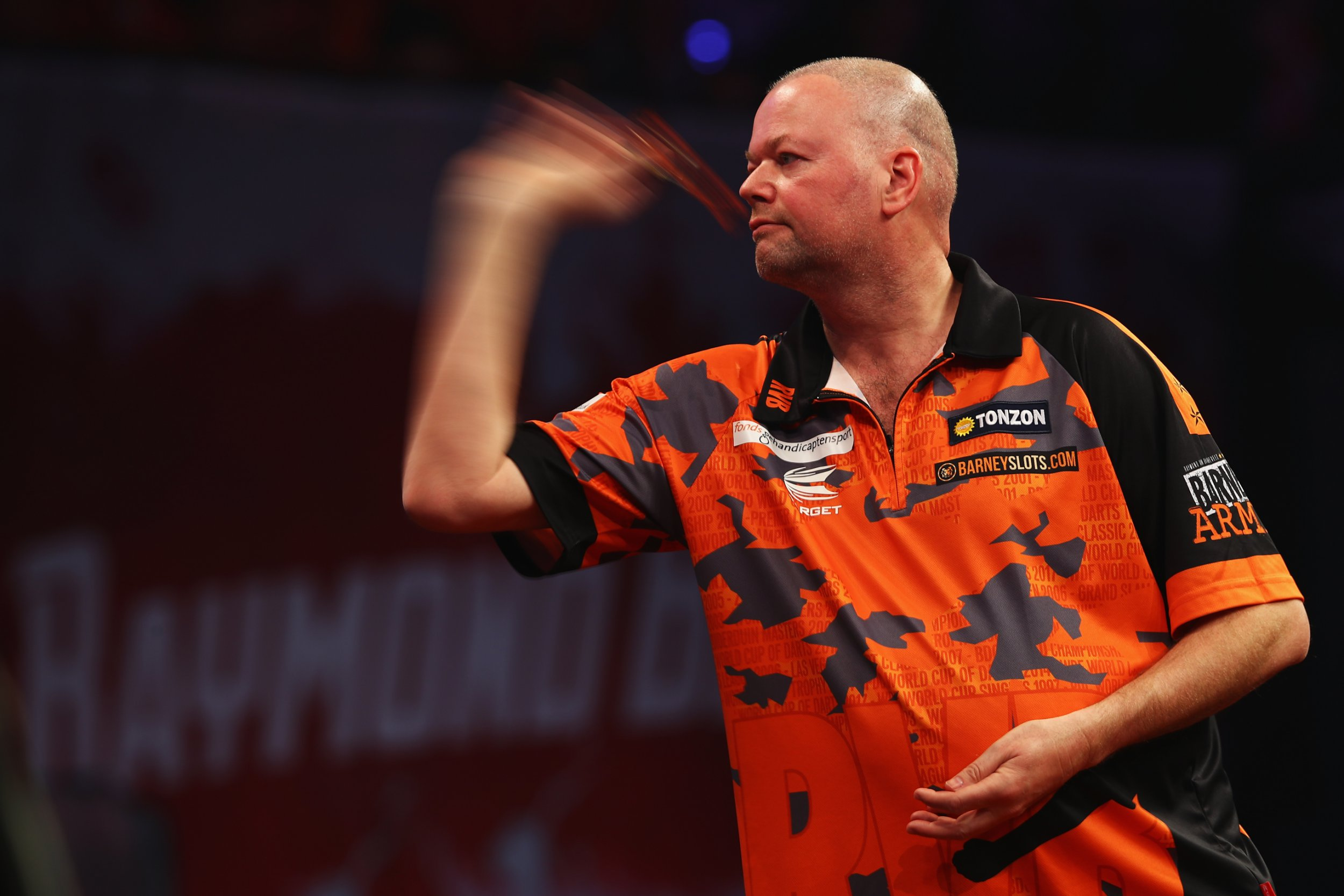 Raymond van Barneveld could get a place in the World Cup of Darts, says Daryl Gurney