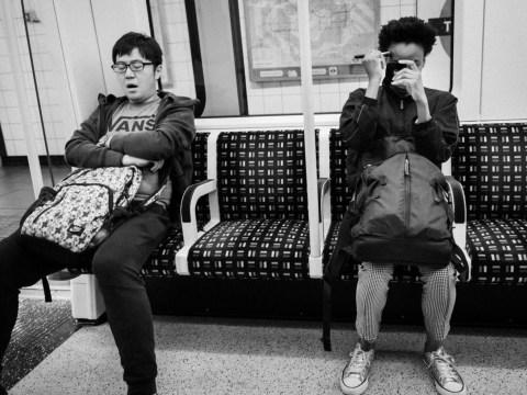 Photographer secretly documents people's sleepy commutes on London's underground