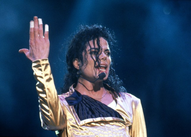Mandatory Credit: Photo by Ilpo Musto/REX/Shutterstock (1289918al) Michael Jackson in concert in Munich, Germany Various