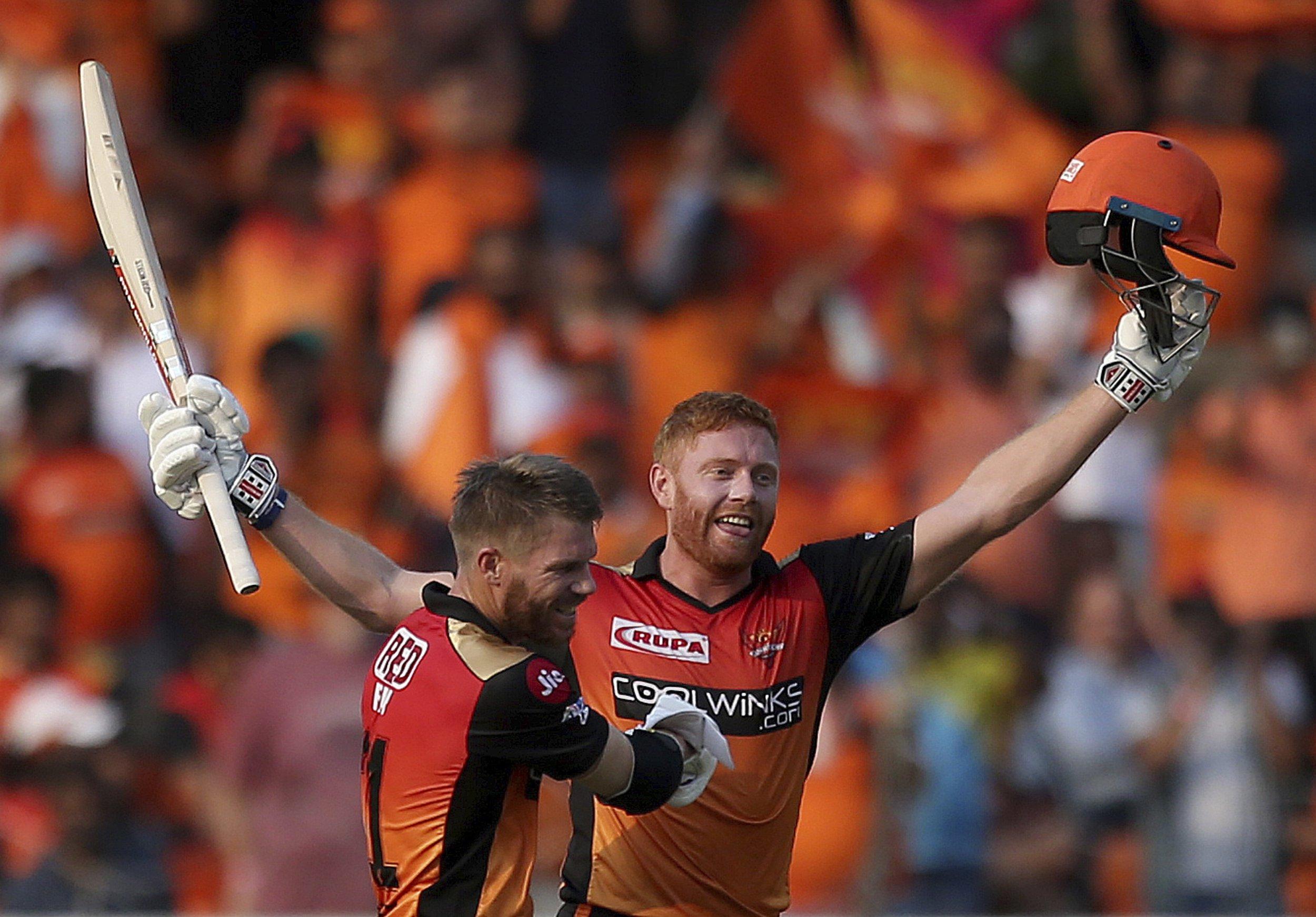 Virat Kohli hails 'world-class' Jonny Bairstow and David Warner after IPL masterclass