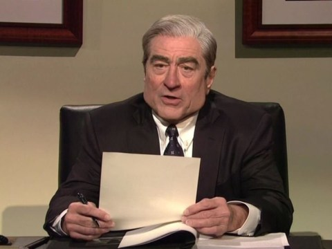 Robert De Niro hilariously roasts Robert Mueller alongside Alec Baldwin's Trump as SNL return shows no mercy