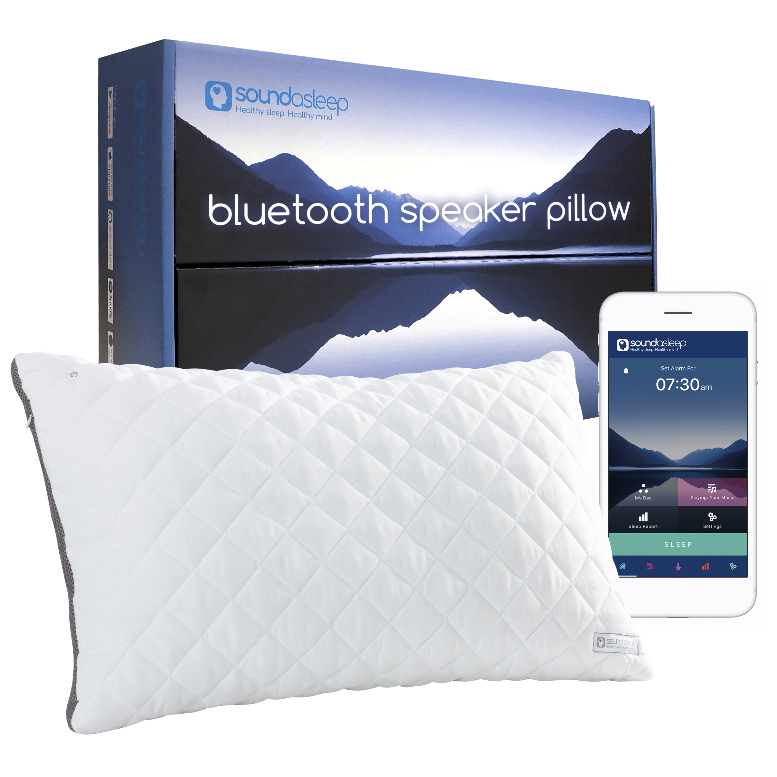 Anti-snoring pillow promises a high-tech solution to sleepless nights
