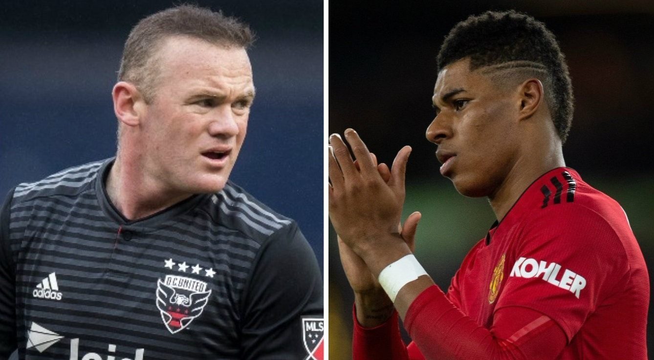 Wayne Rooney identifies the one area where Marcus Rashford must improve for Manchester United