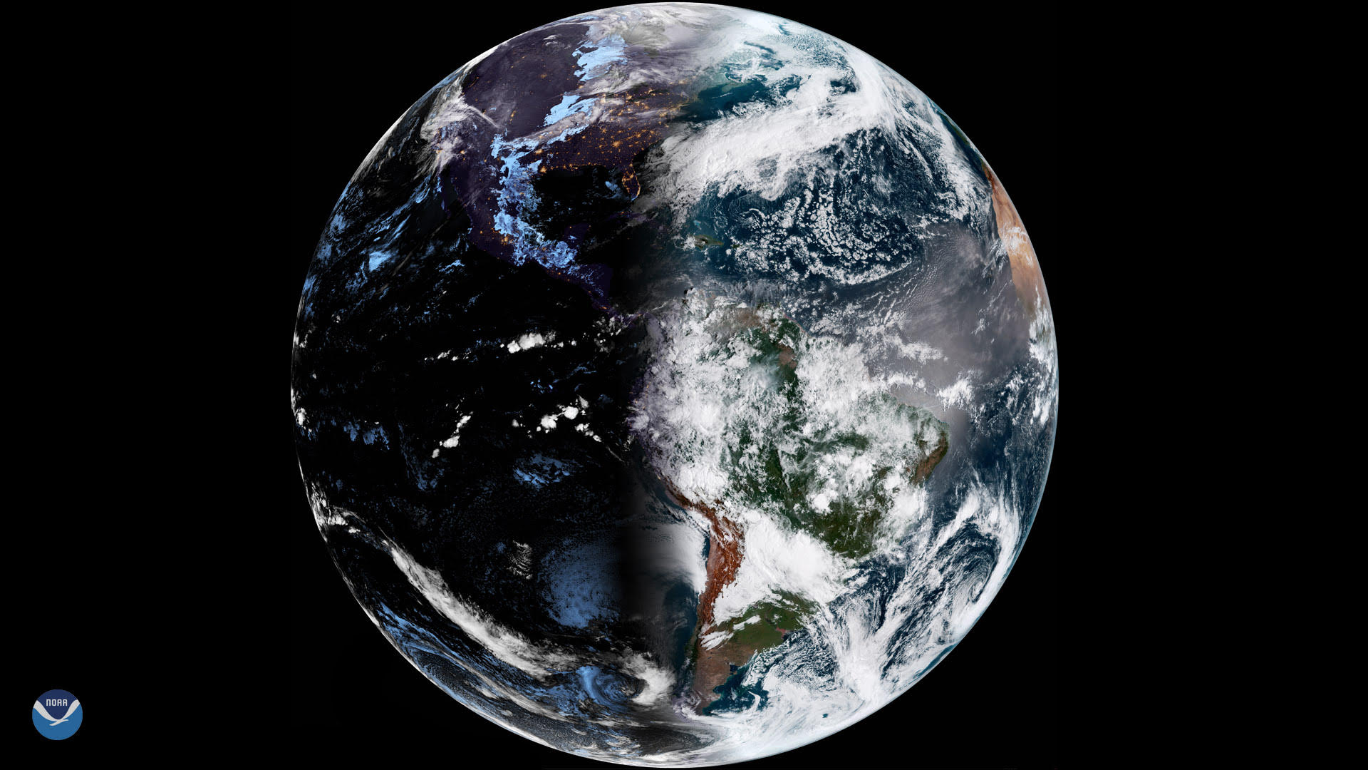 Stunning image shows Earth in 'perfect balance' at point of Equinox
