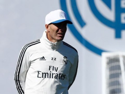 What Zinedine Zidane told Real Madrid squad in first training session after return