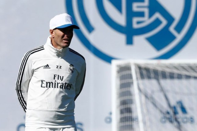 Real Madrid news: Zinedine Zidane speaks to squad in first training session