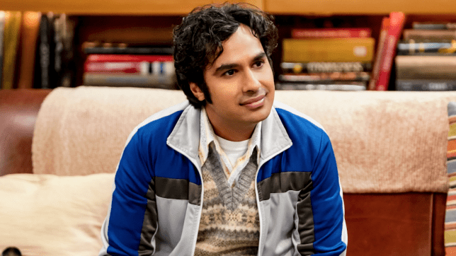 Raj on The Big Bang Theory