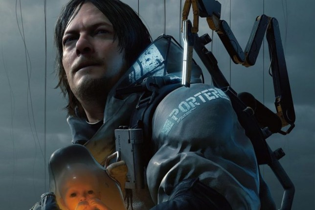 Norman Reedus as Sam in Death Stranding