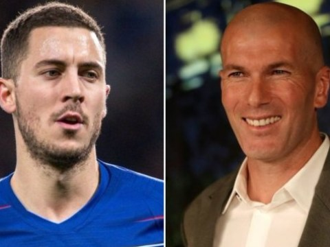 Zinedine Zidane tells Real Madrid to sign Felipe Anderson if Eden Hazard move fails